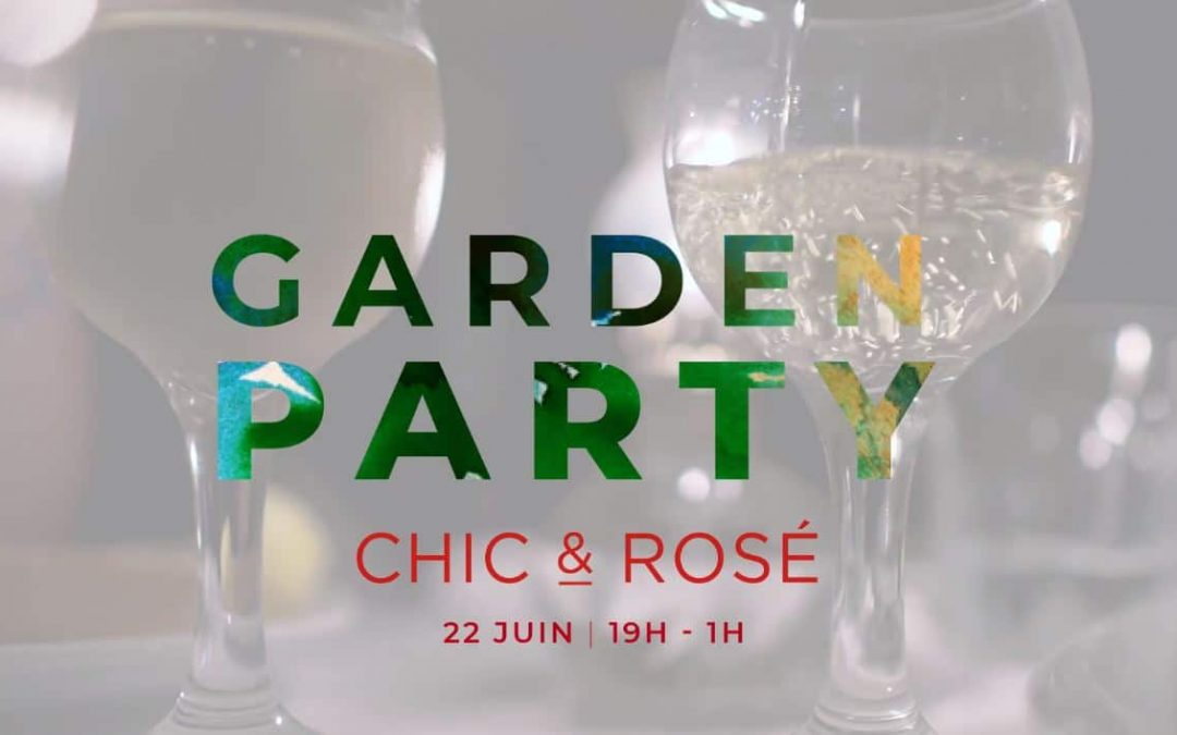 Garden Party Chic & Rosé au Clos Syrah